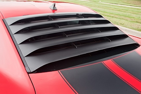 2010 15 Camaro Mrt Rear Window Louver